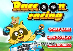 Jugar Raccoon Racing