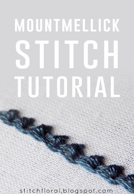 Mountmellick stitch tutorial