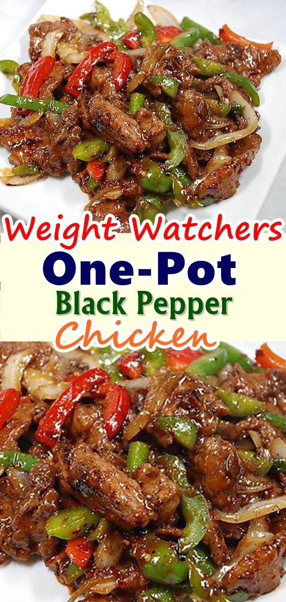 ONE - POT BLACK PEPPER CHICKEN