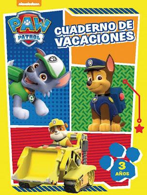 LIBRO - PAW PATROL : La Patrulla Canina  Cuaderno de vacaciones : 3 años   (Altea - 5 Mayo 2016) | INFANTIL  Comprar en Amazon España