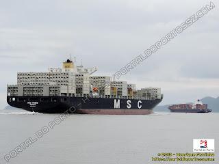 MSC Athens e Santa Philippa