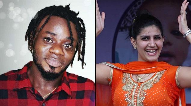 "Nigerian Singer Samuel Singh Sing Sapna Chaudhary Song ""Gajban"" Haryanvi Song"