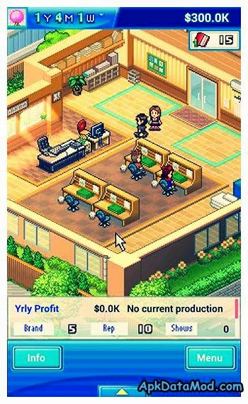 game dev story 1.1.4 apk  free