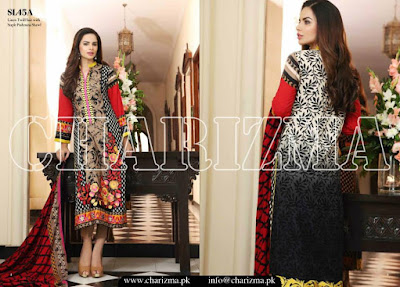 Charizma Fall/Winter Eid Embroidered Linen Collection 2015