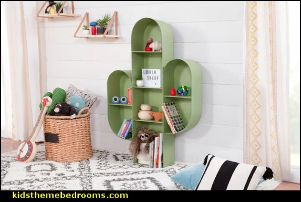 Cactus Bookcase cactus decor cactus bedroom ideas  cactus room decor ideas - cactus room theme - cactus wall art - cactus themed bedroom ideas - cactus bedding - cactus wallpaper - cactus wall decals  - cactus themed nursery ideas - cactus rugs - cactus pillows - cactus lighting - cactus furniture