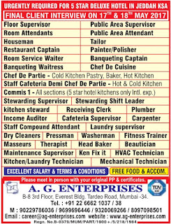 5 Star Deluxe Hotel jobs in Saudi Arabia