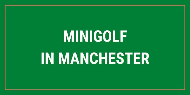 Minigolf in Manchester city centre