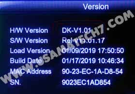 1507G NEW SOFTWARE - 1507G HW DK-V1.01 8MB NEW POWERVU SOFTWARE