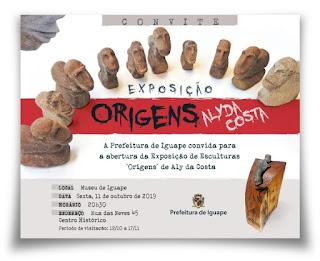 Exposição Origens em Iguape