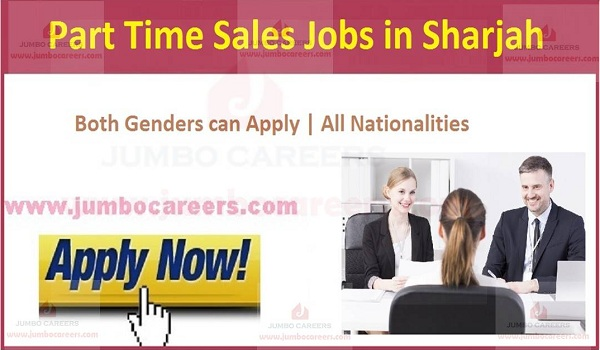 Sales Jobs in UAE, Available sales jobs in Sharjah,