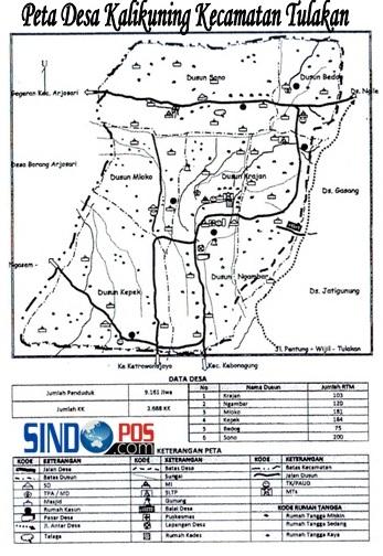 Profil Desa & Kelurahan, Desa Kalikuning Kecamatan Tulakan Kabupaten Pacitan