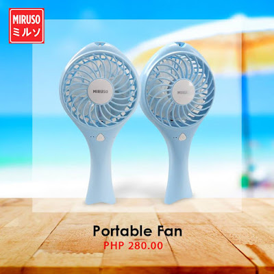 Rechargeable Handheld Fans – Refresh by using these to beat the heat.