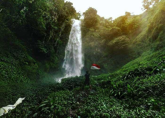 Binangan Bolon Waterfall