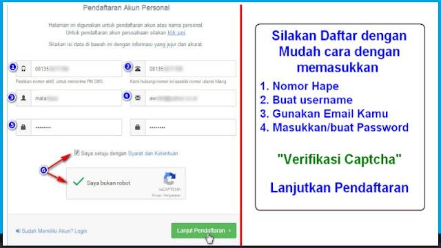 daftar wallet address di indodax