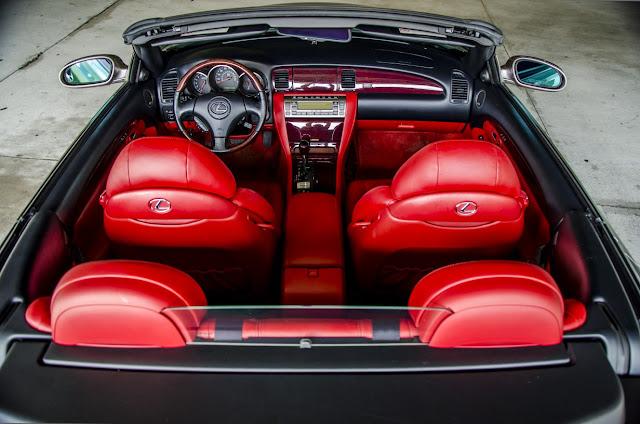 Lexus SC430, Toyota Soarer Z40, luksusowe kabriolety