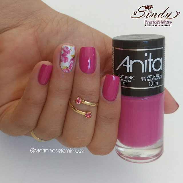 Hot Pink Anita + Sindy Francesinhas