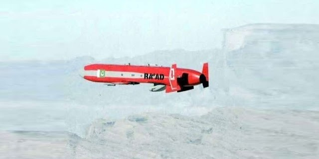 پاکستان کا کروز میزائل رعد-2 کا کامیاب تجربہ