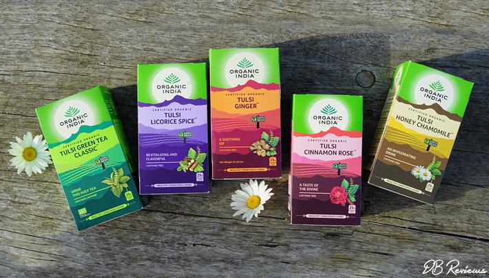 Organic Tulsi Teas from Organic India