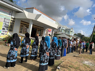 Desa Kampuno Aktif Lakukan Apel Pagi