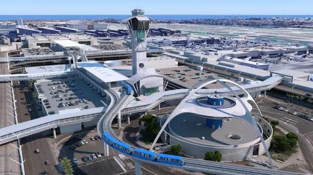 Theme Building Los Angeles, USA