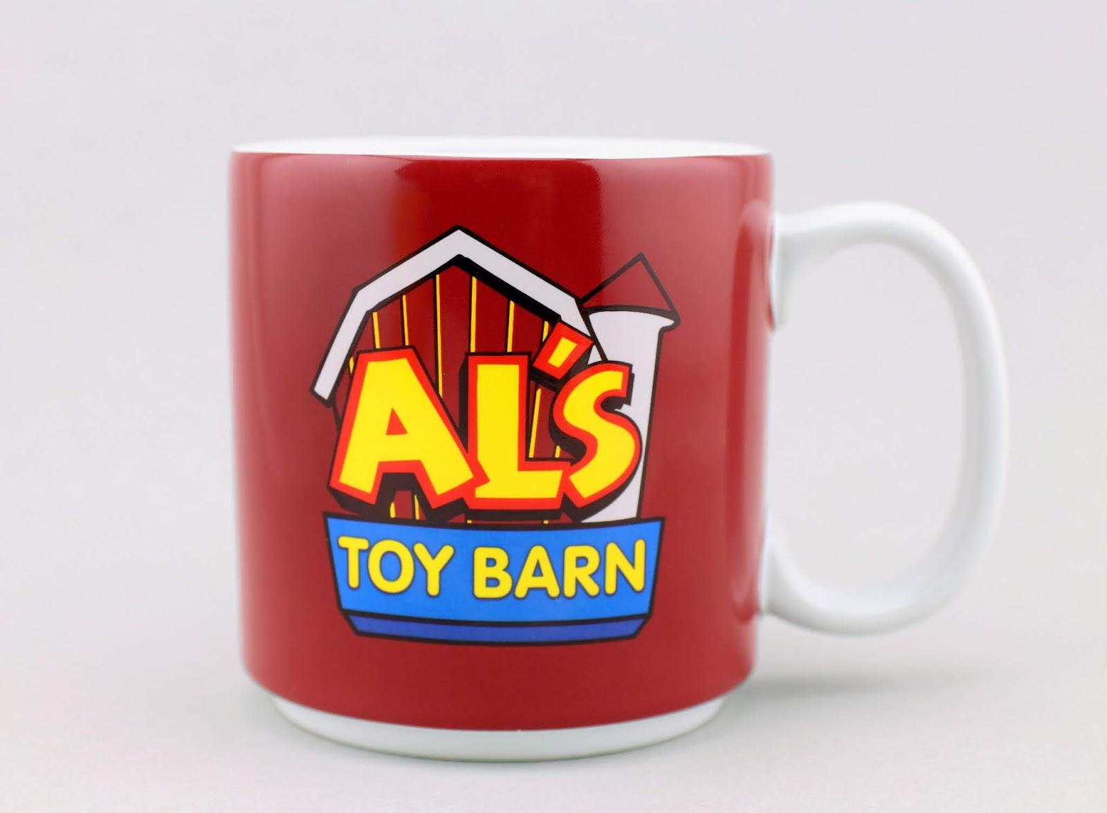 toy story al's toy barn mug