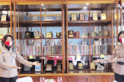 Budayakan Literasi Membaca, Kapolda Lampung Siapkan Ruang Perpustakaan Siger Lounge
