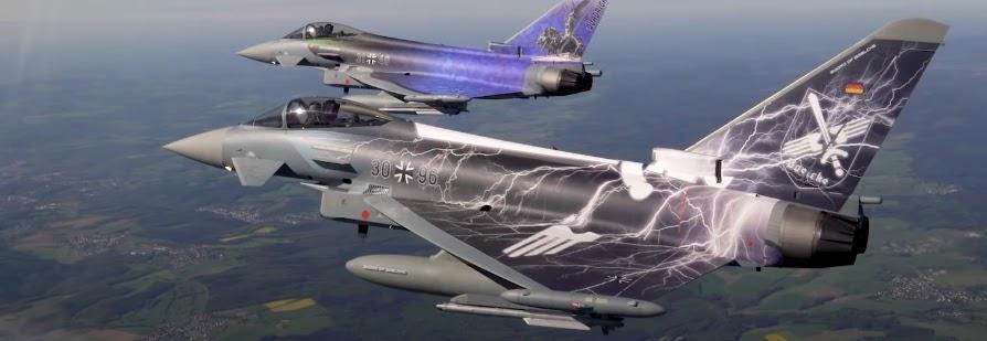 Німеччина переозброїть ВПС на нову модифікацію Eurofighter