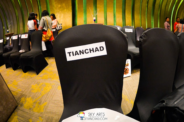 This time it is special for TianChad.com,  I had a seat with my name on it as I am one of the promotional partners for The Shout Awards 2013 *bangga*