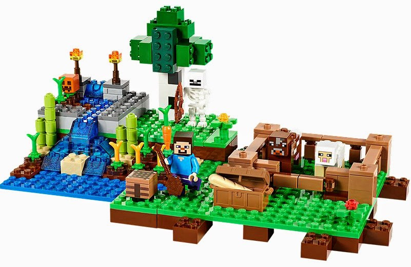 The New LEGO Minecraft sets overview The Farm 21114