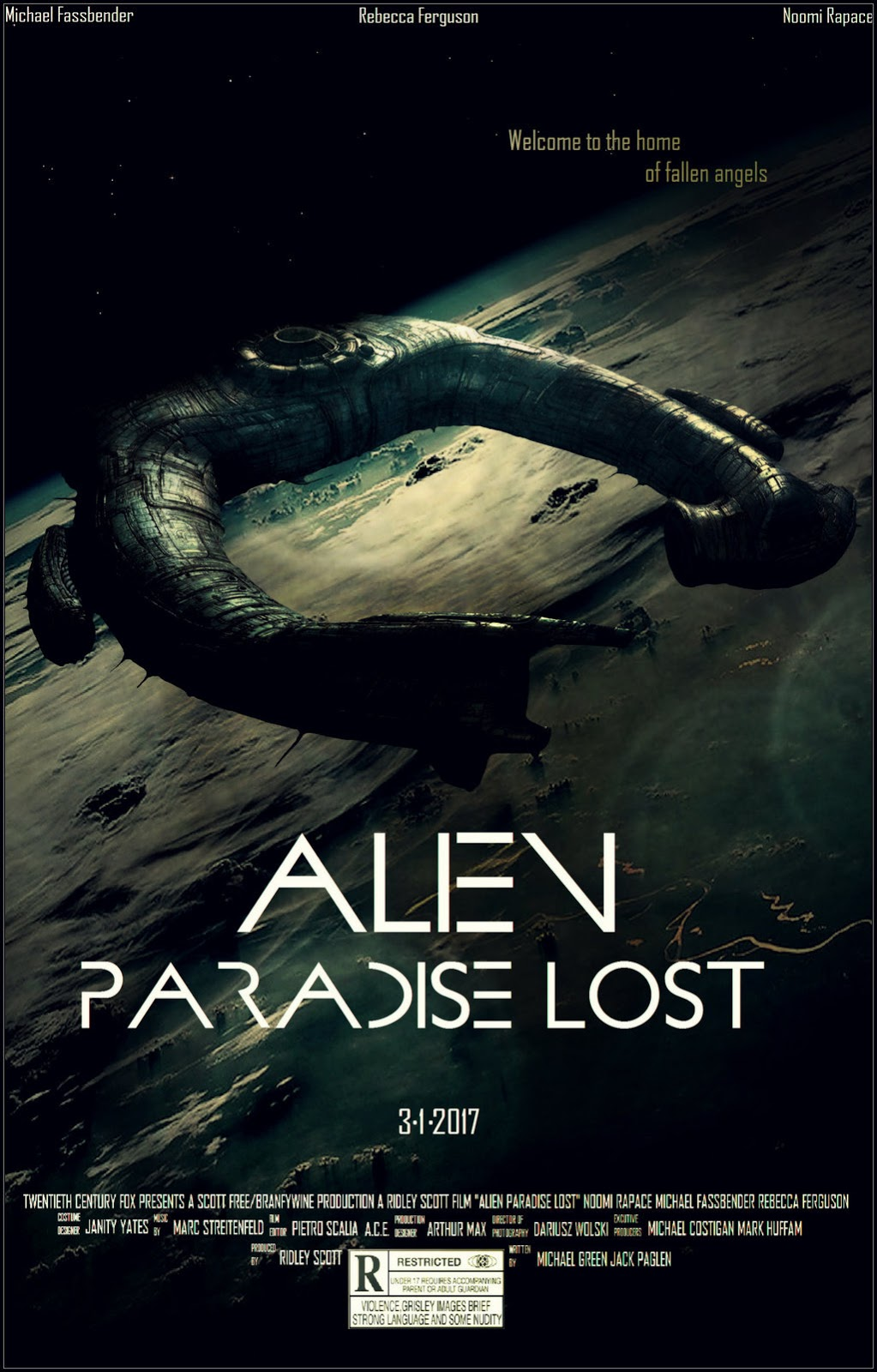 Alien Paradise Lost