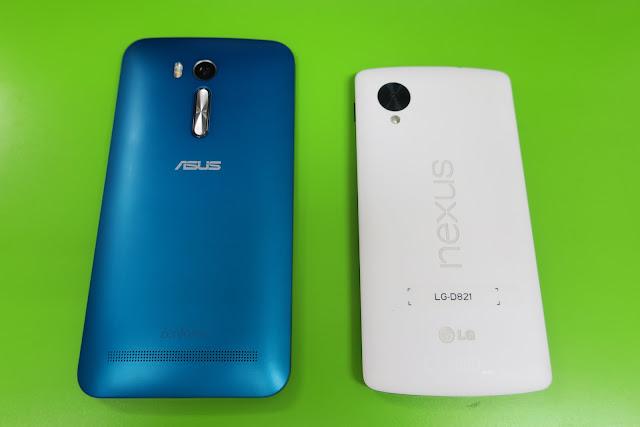 Nexus5 と ZenFone Go