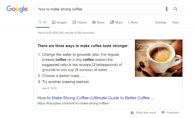 coffee-serp