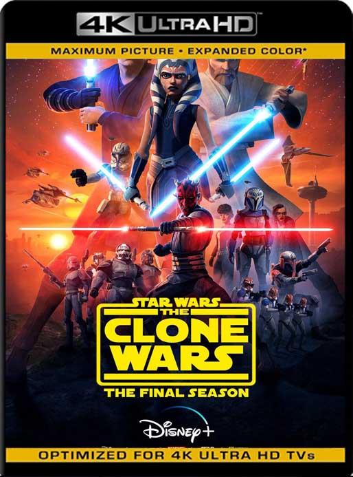 Star Wars: The Clone Wars (2020) Temporada 7 [01/12] 4K 2160p UHD [HDR] Latino [GoogleDrive]