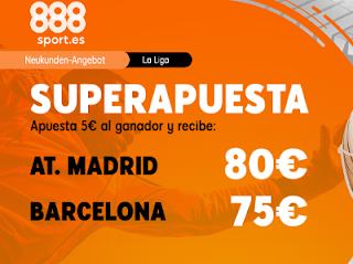 Superapuesta 888sport liga: Atletico v Barcelona 1-12-2019