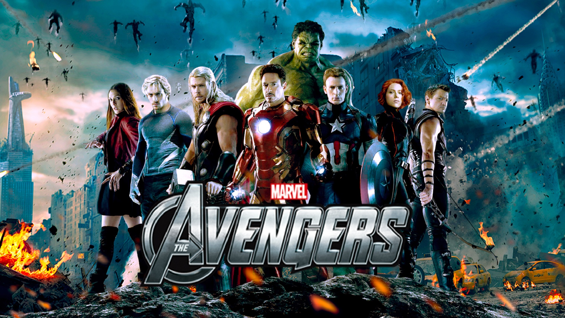 Save Marvel's The Avengers HD Wallpapers