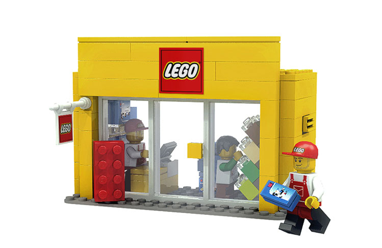 The Brickverse: Mini Shop Series in the Cuusoo review