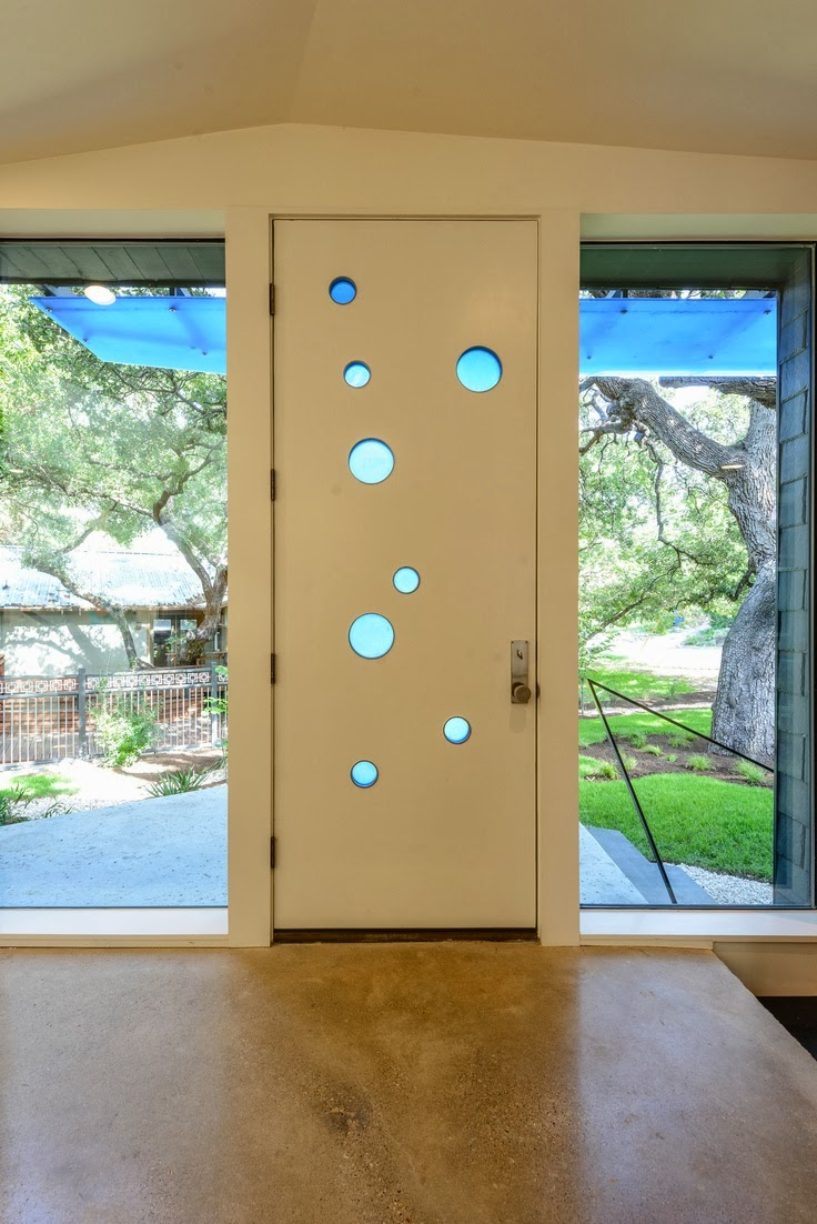 Mad for mid century austin modern home tour 2014 - Mid century modern doors ...
