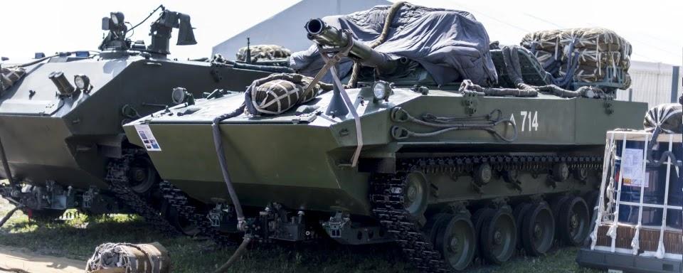 РФ нарощує виробництво вантажних парашутних систем