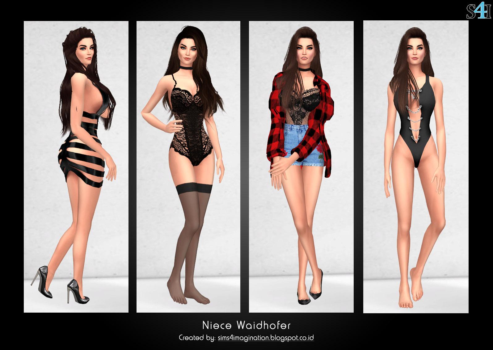 My Sims 4 CAS: Niece Waidhofer (Patreon) - Imagination Sims 4 CAS