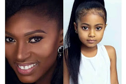 """""""She Looks Like An Indian"""" People React To Cute Photos Of The Daughter Of Nollywood Actress"""