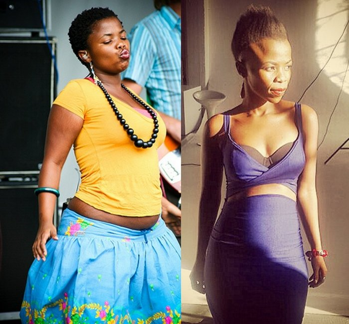 Zolani Mahola Throwback: Celebs before and after weight ...
