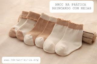 BNCC NA PRÁTICA: Brincando com meias