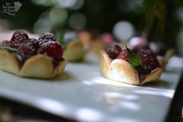 Tartaletas de frutos rojos y chocolate las recetas de tere 03