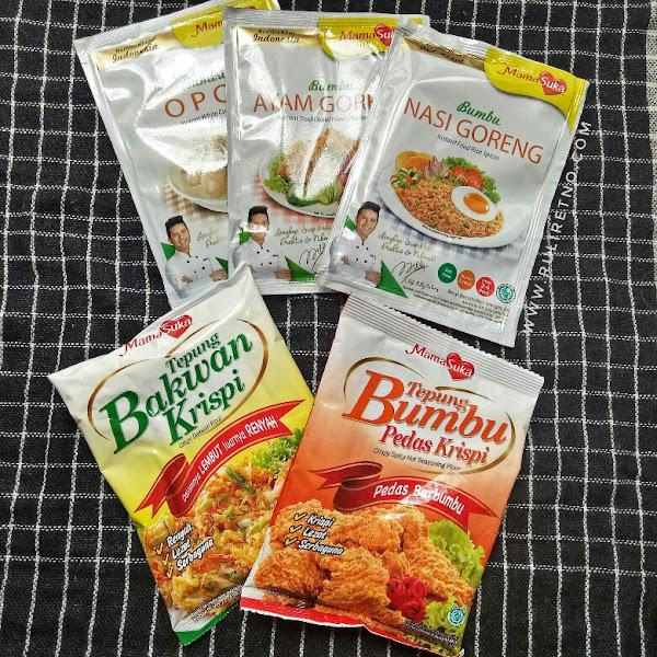 Review Bumbu Instan MamaSuka, bumbu khas Masakan Indonesia