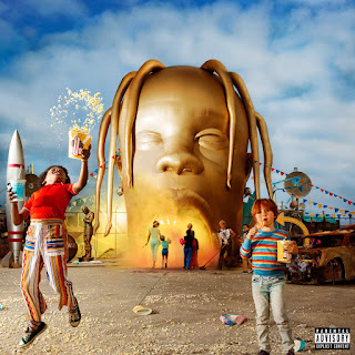 copertina dell'album travis scott di astroworld