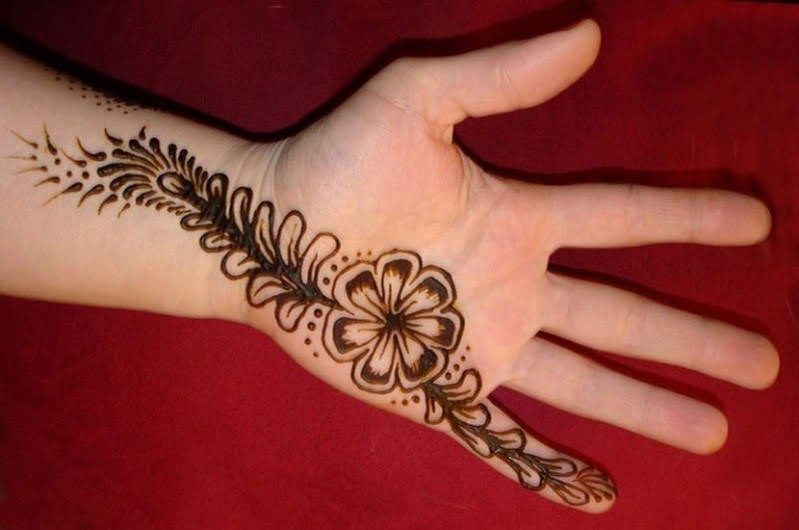 Hand Mehndi Designs, Makeup and Hair Styles