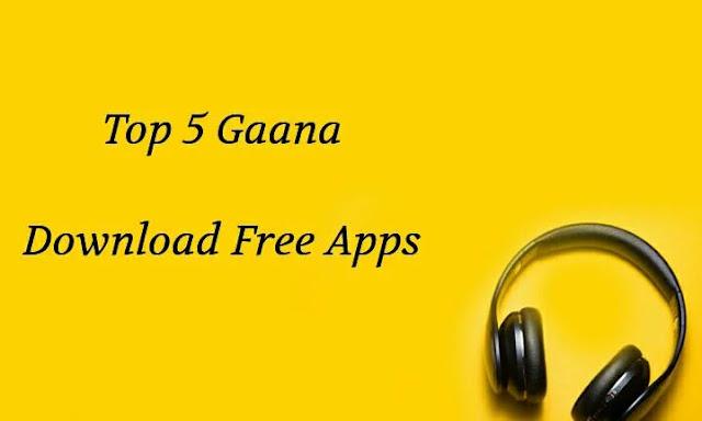 gana download karne wala apps