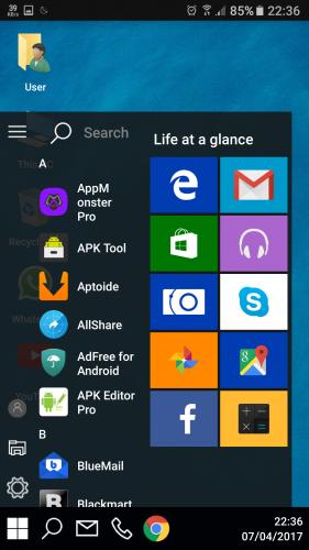 Cara Membuat Tampilan Android Seperti PC / Desktop Dengan Computer Launcher
