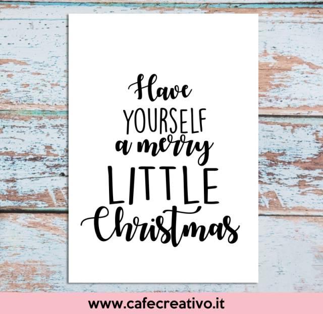 Albero di Natale poster stampabile per te