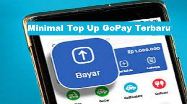 Minimal Top Up GoPay